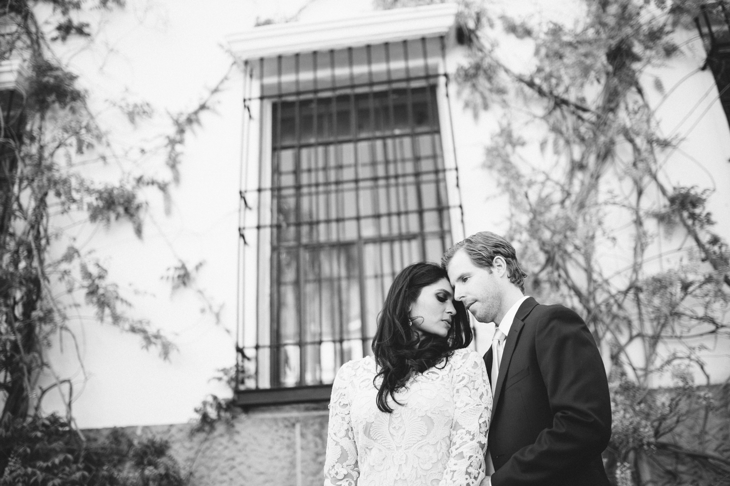 santa barbara wedding photography intimate moment