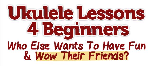 Learn Ukulele Online Now