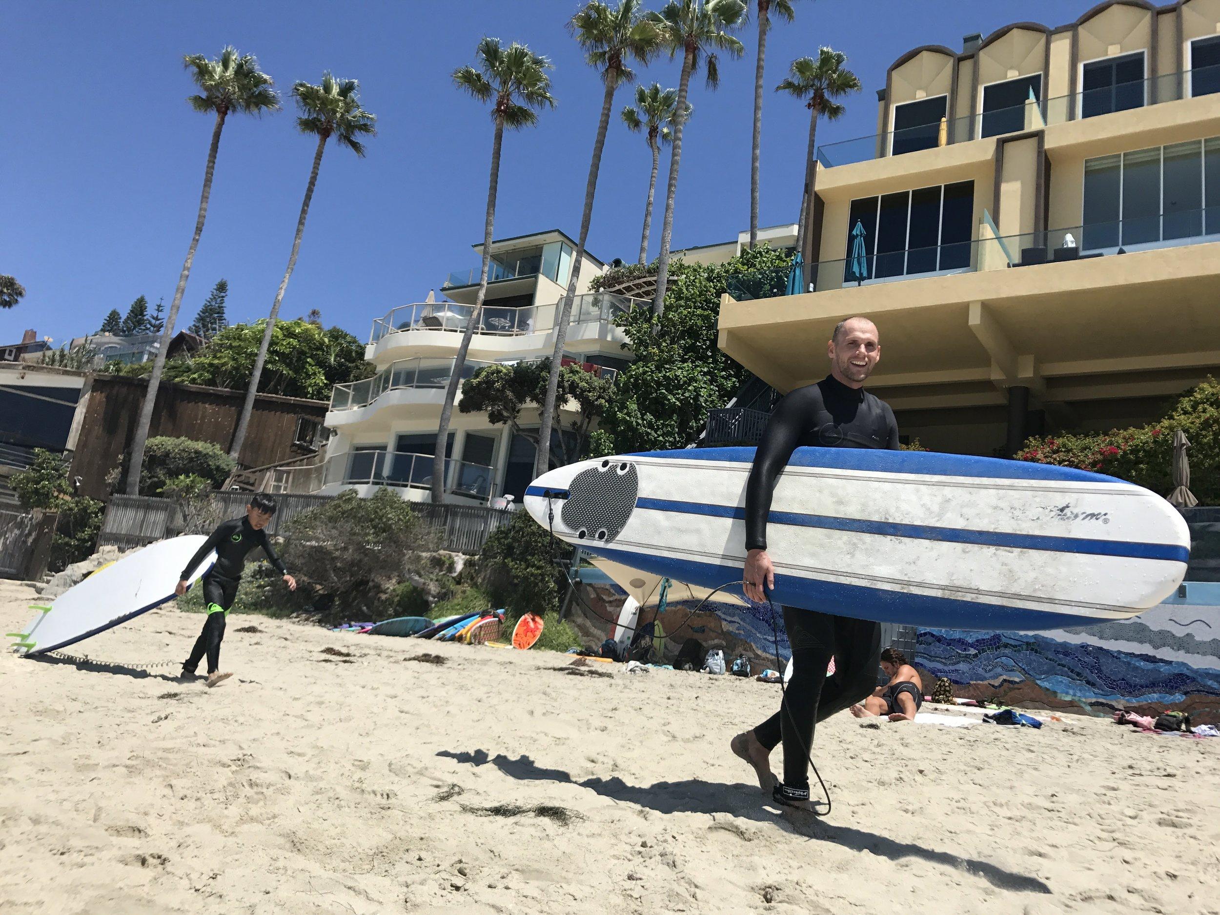 Surfing Laguna Beach Surf Lessons