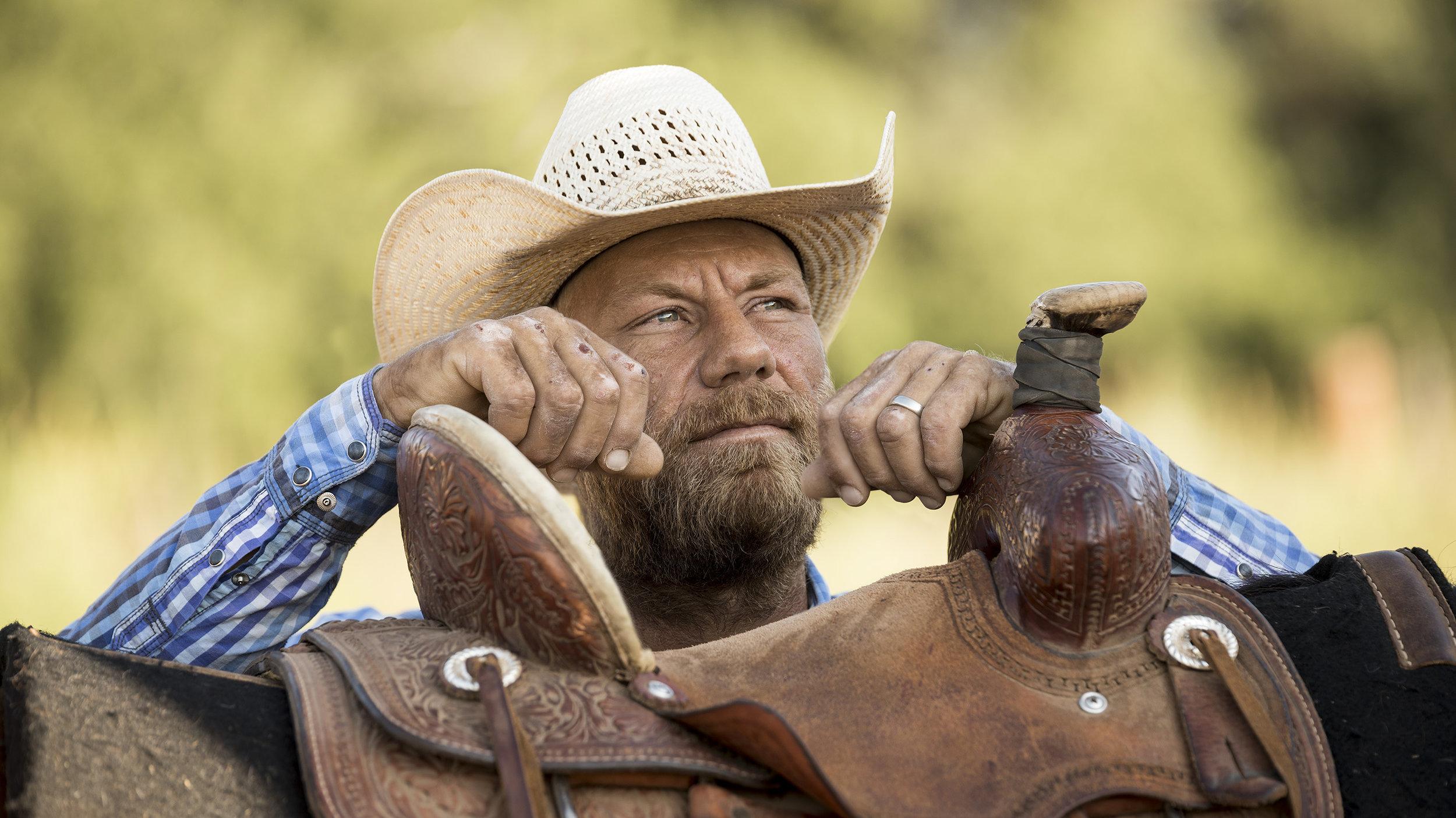 Rode Lewis, Cowboy, Alpine Texas