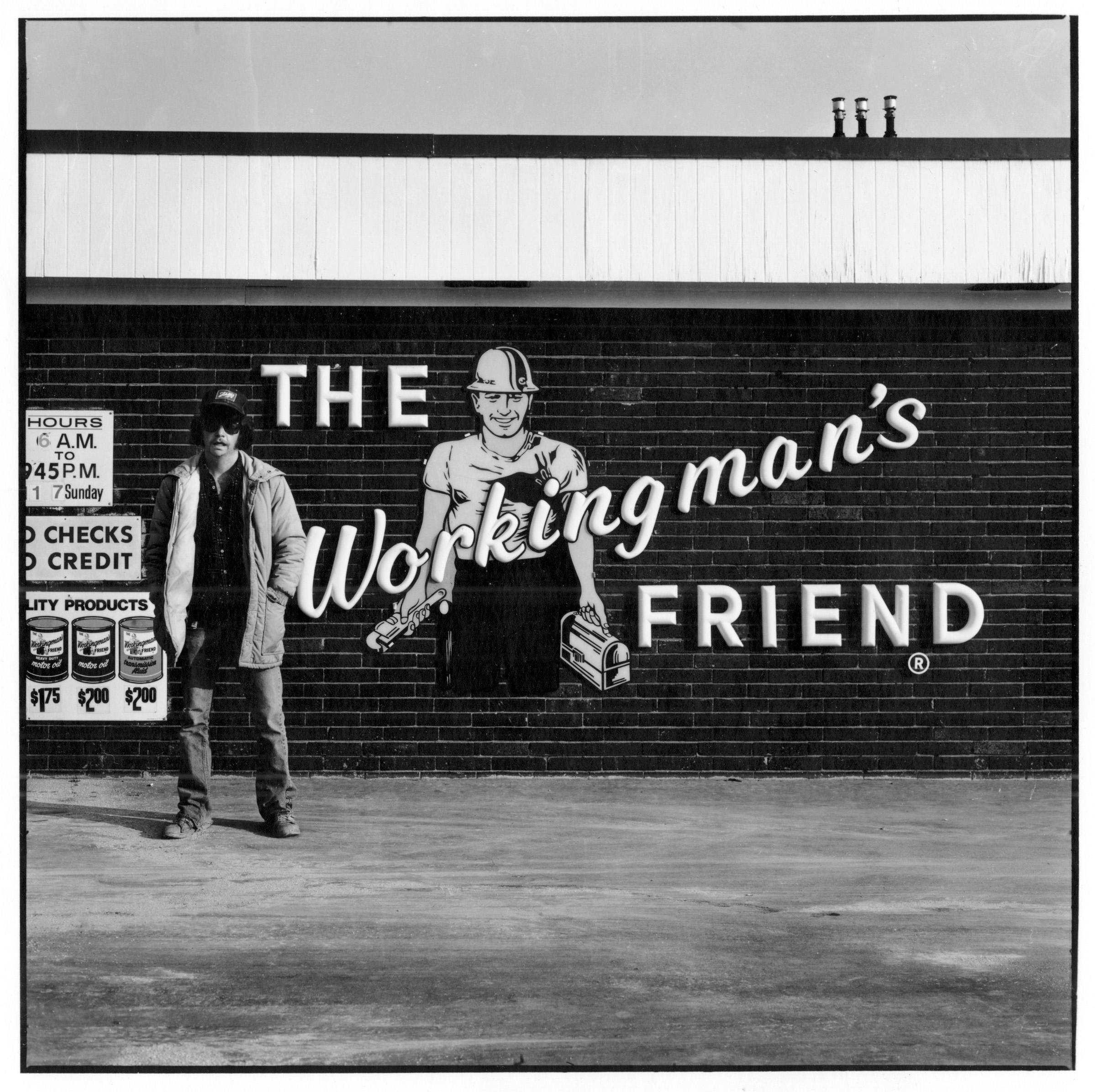 The Workingman's Friend Gas Station, Austin, 1982