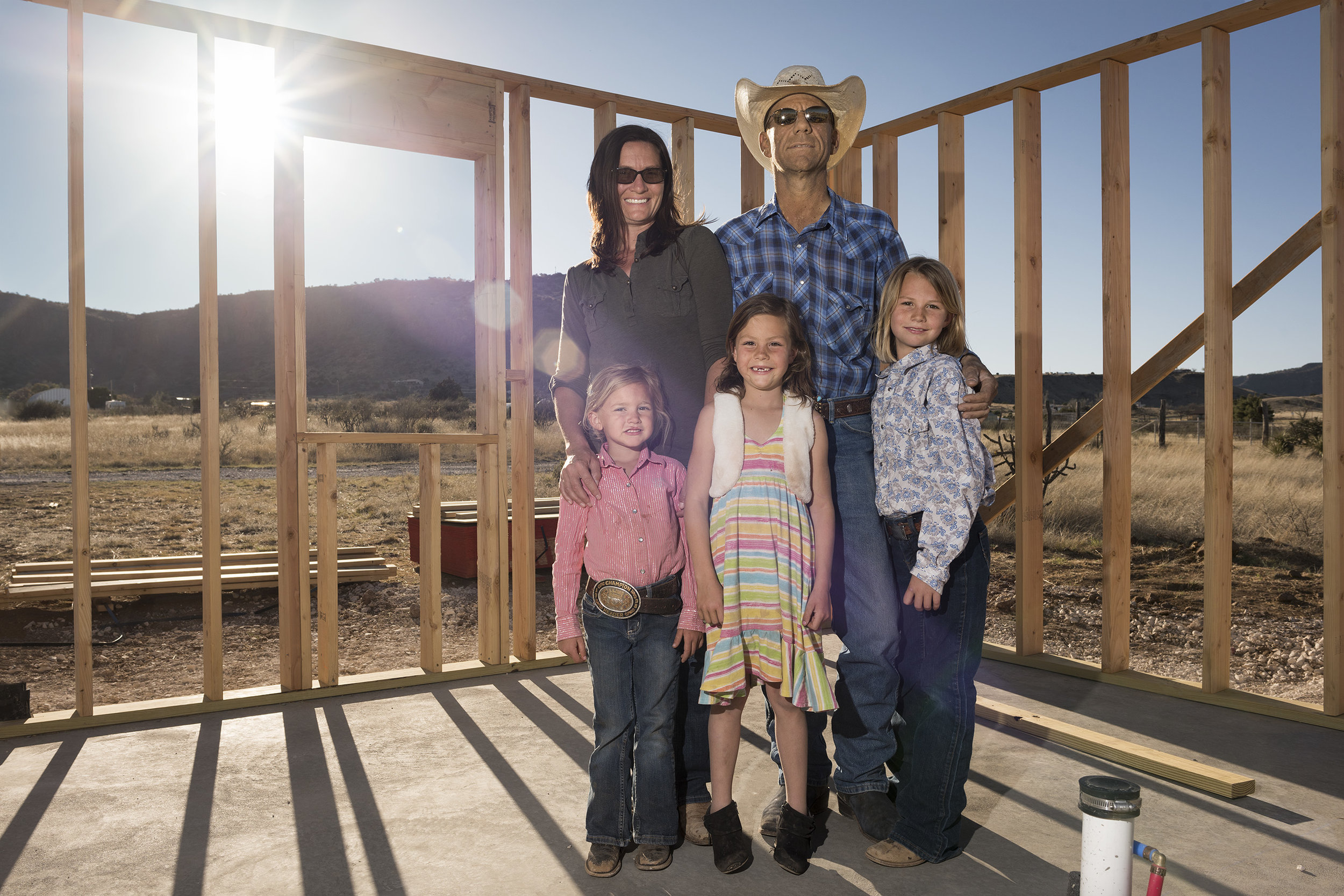 Rode Lewis Family New Home