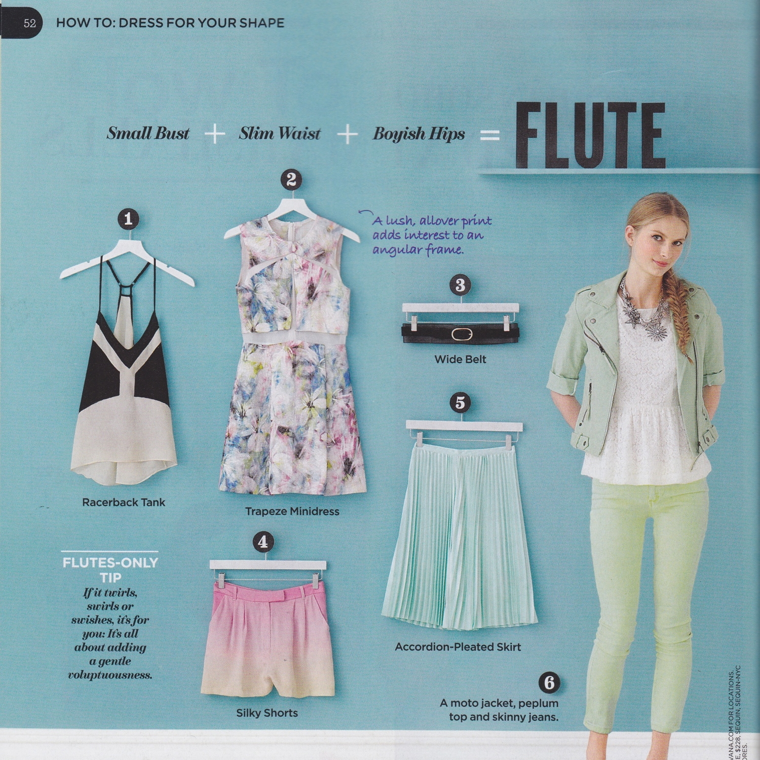 LUCKY MAG  How to Dress for your Shape