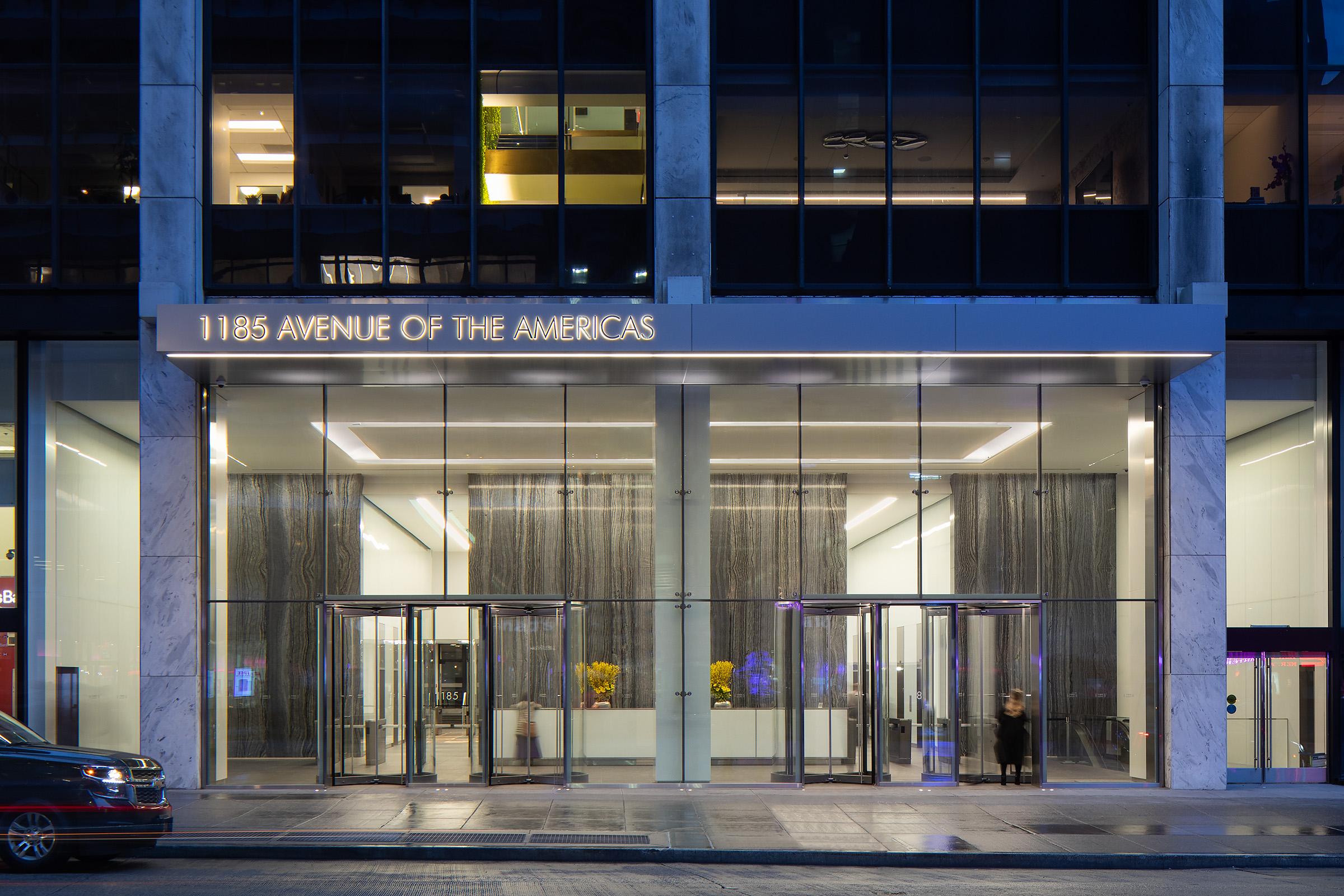 1185 Avenue of the Americas Lobby