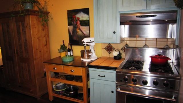 Duck Egg Kitchen Cabinets
