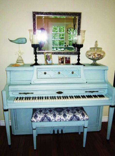 Patti's Painted Piano