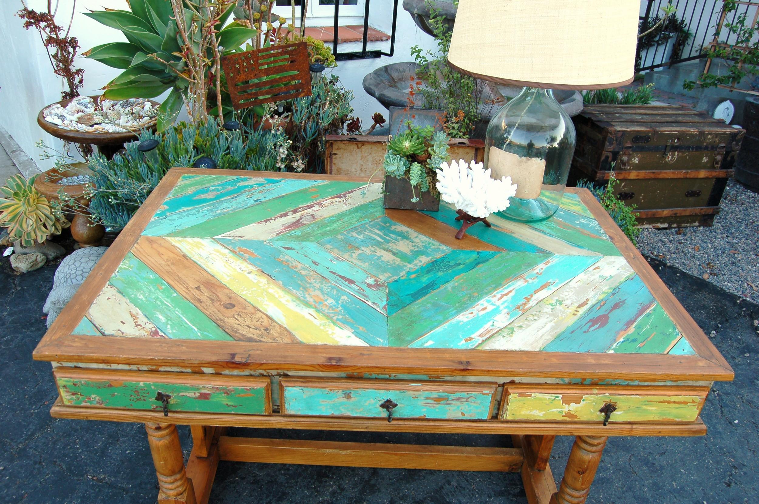 MaKandJiLL Boat Wood Desk 2.JPG