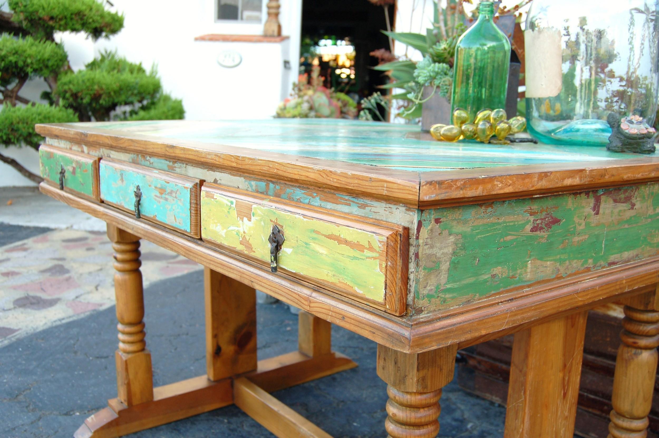 MaKandJiLL Boat Wood Desk 3.JPG
