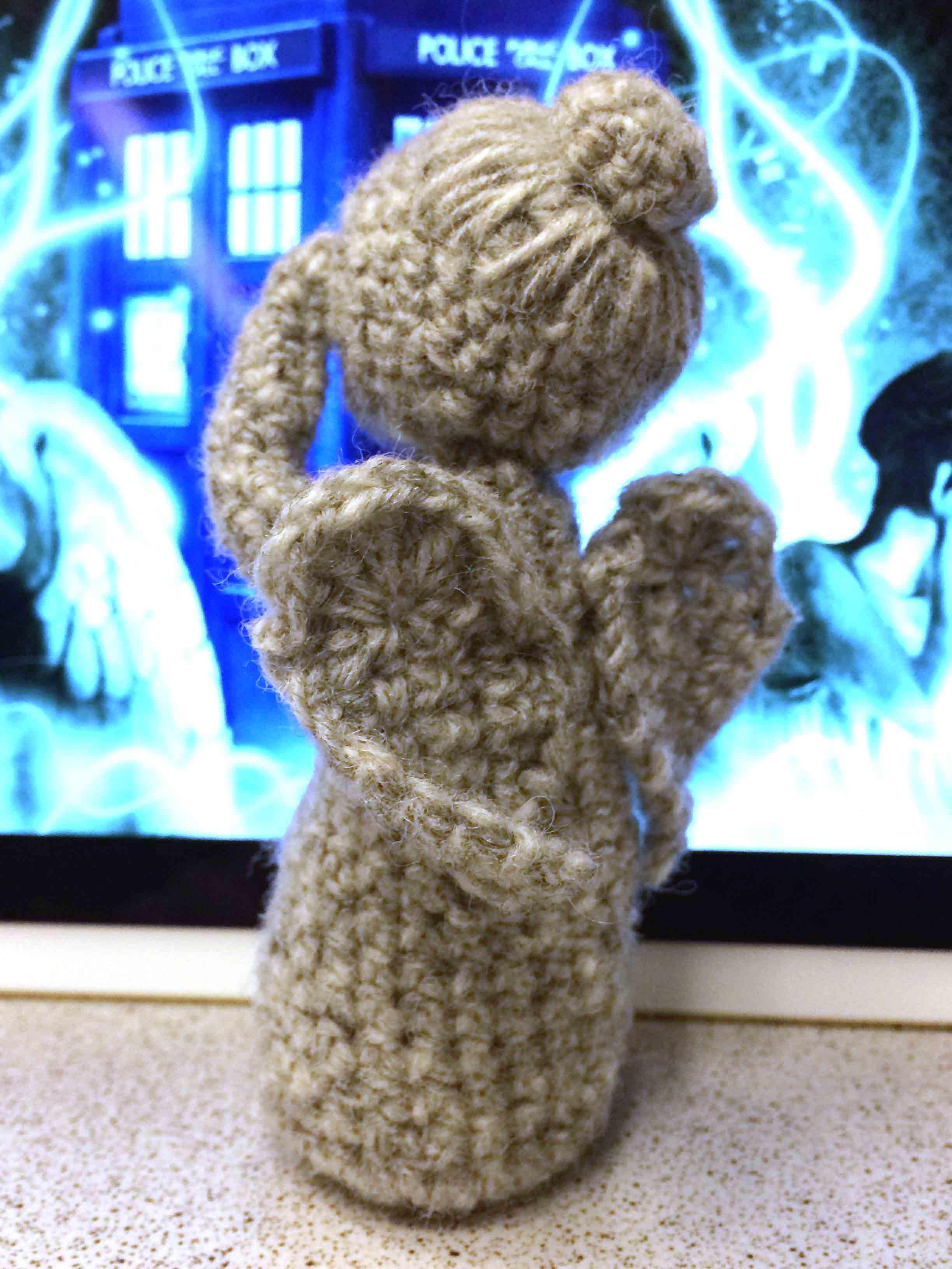 Doctor Who Weeping Angel amigurumi | Weeping Angel amigurumi… | Flickr | 1333x1000