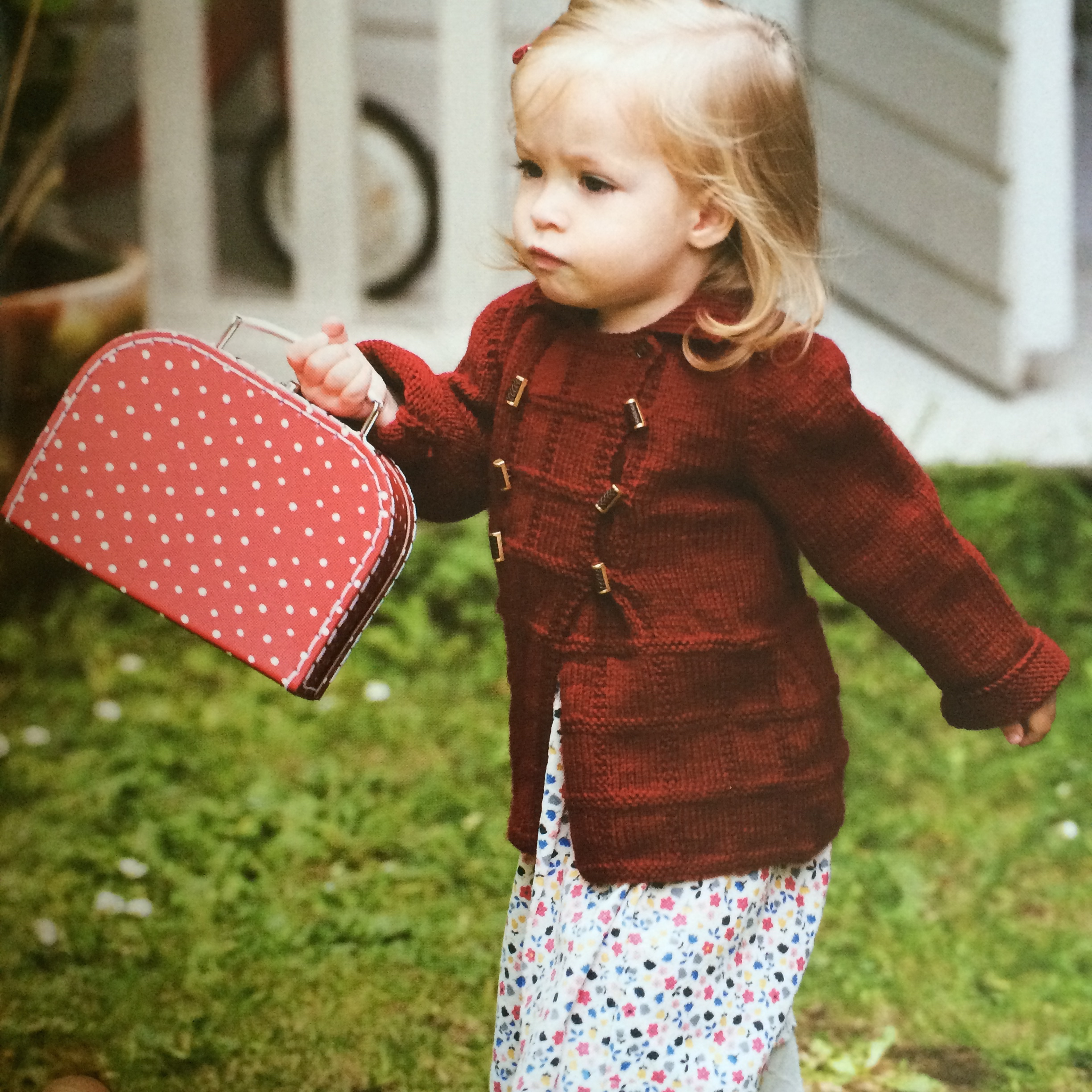 Poppy Duffle Coat and Mittens by Rita Taylor
