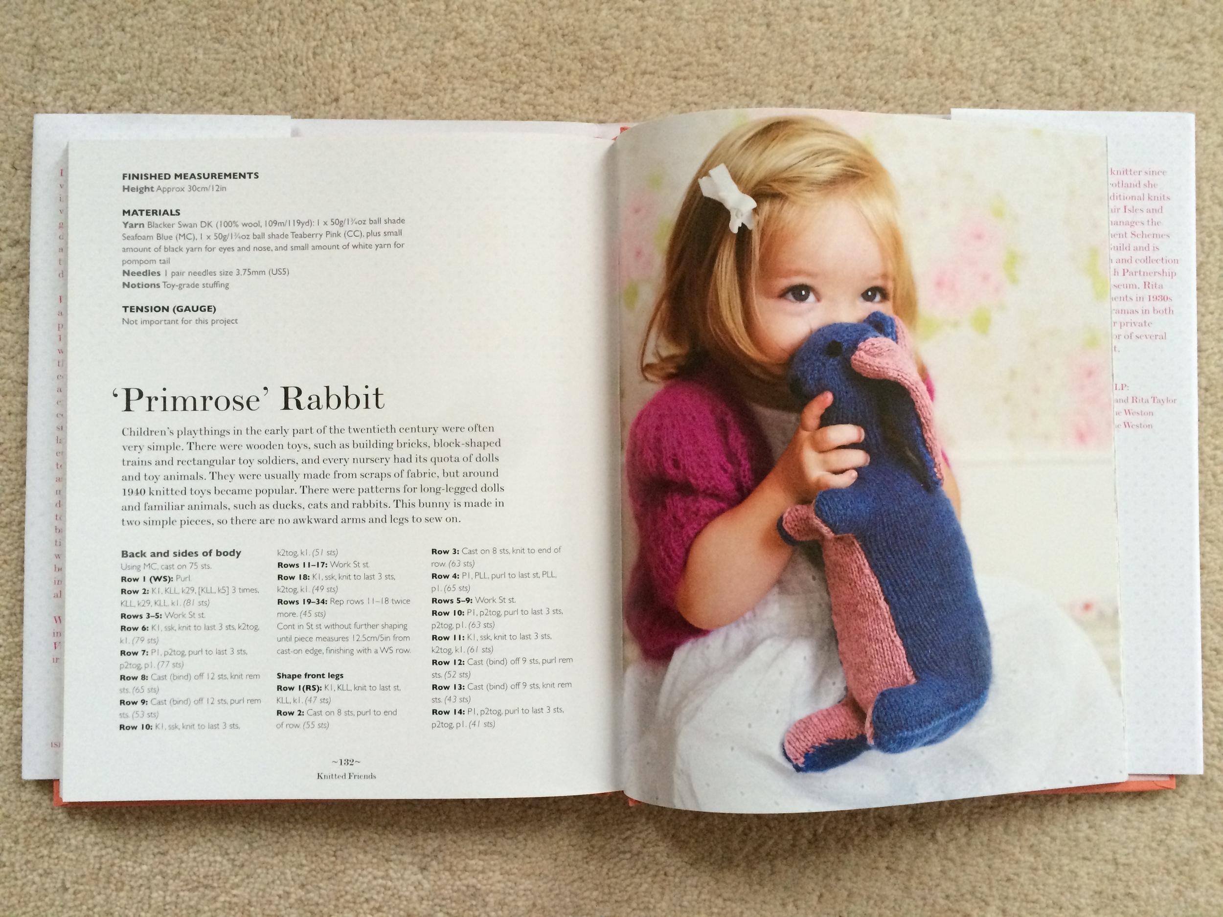 Primrose Rabbit by Rita Taylor