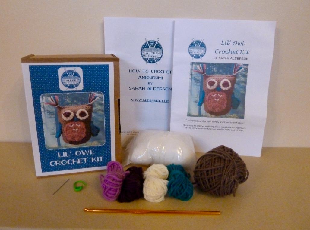 Lil' Owl crochet kit