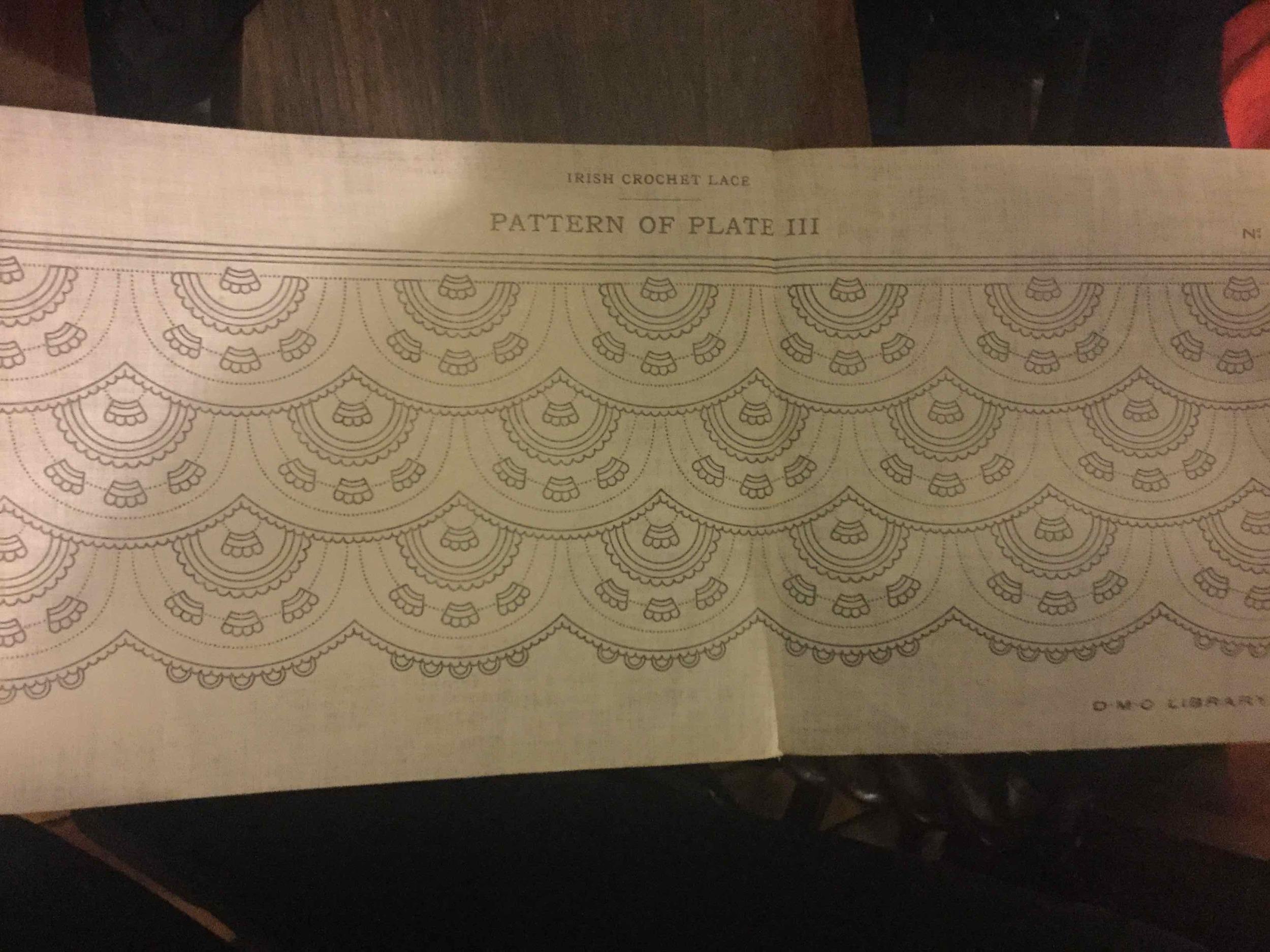 Pattern plate