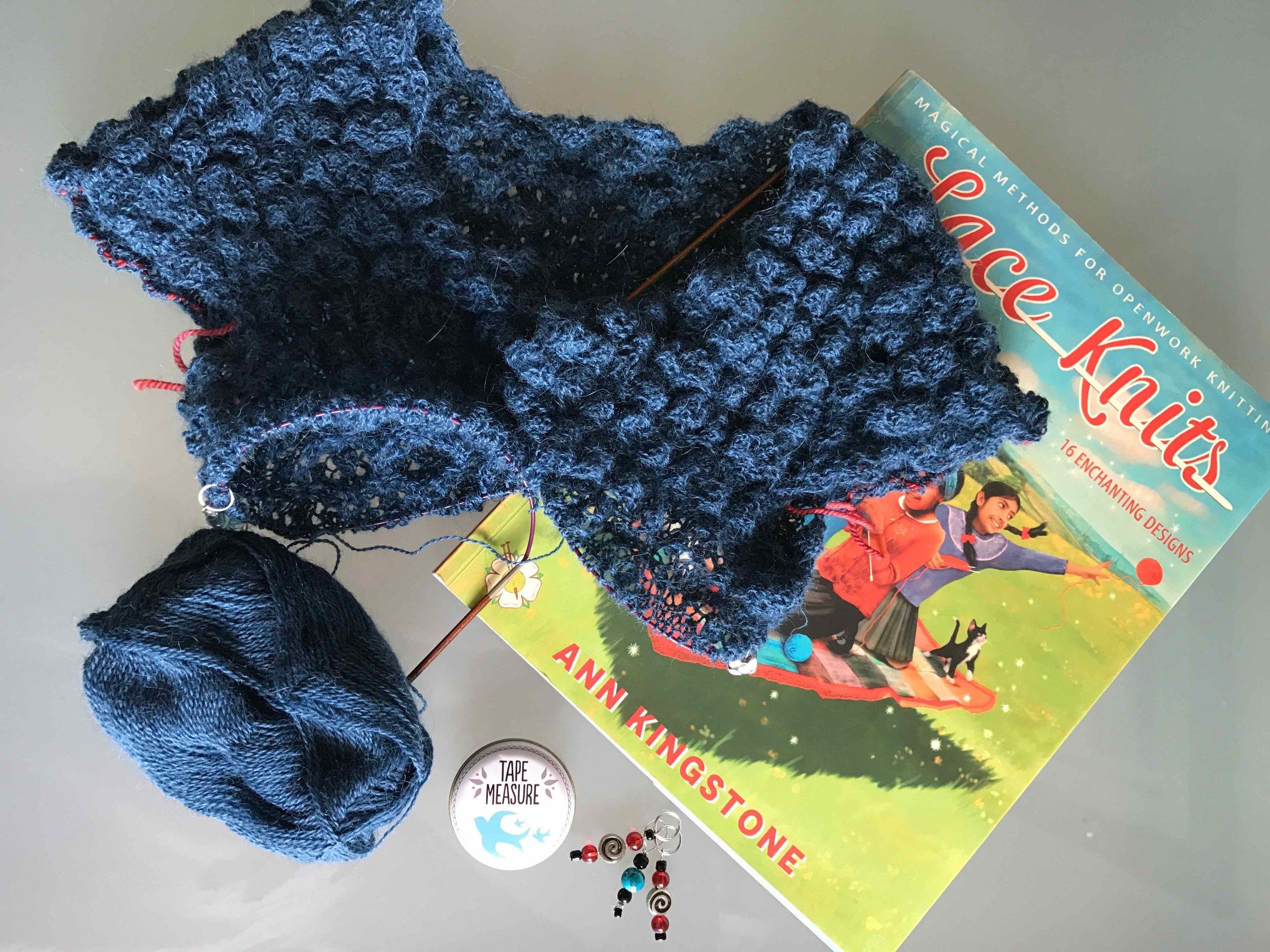 Knitting my Fenay