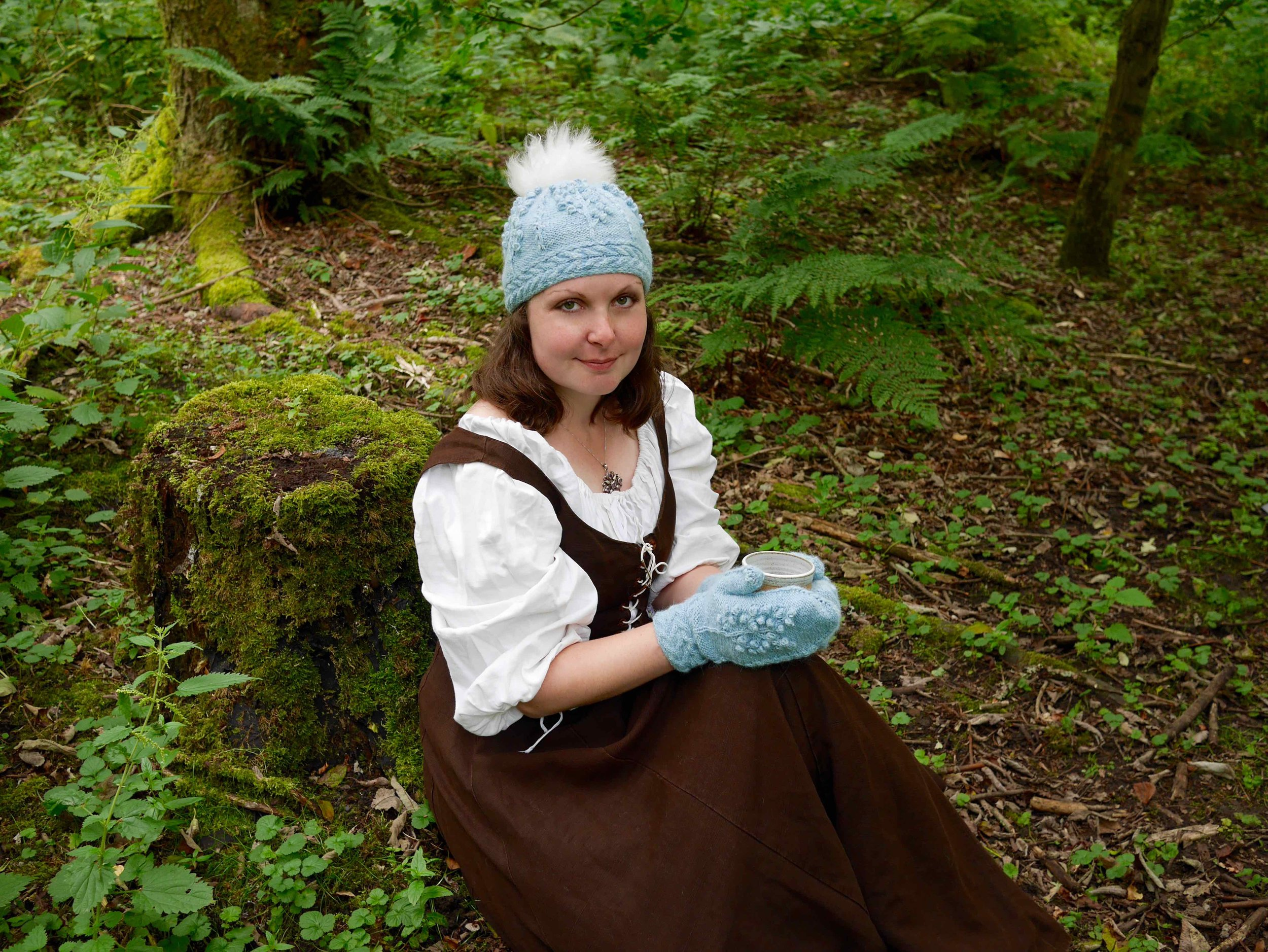 Frostberry Hat and Mittens