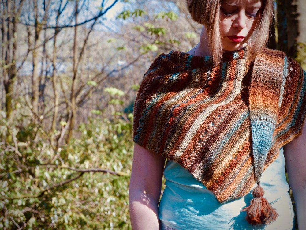 Eferhild shawl