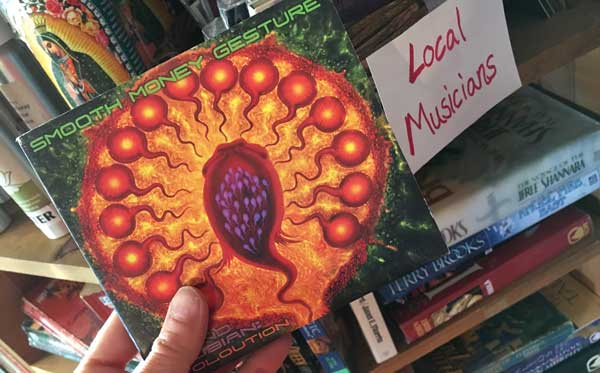 Well looky here.  I happened across my brother's album in the local musician section.  He lived here for a number of years, knows a lot of people in town and is still involved in the local music scene here.  This is a fantastic album, by the way (not just because I'm his sister and am biased...but because it is awesome!!!)