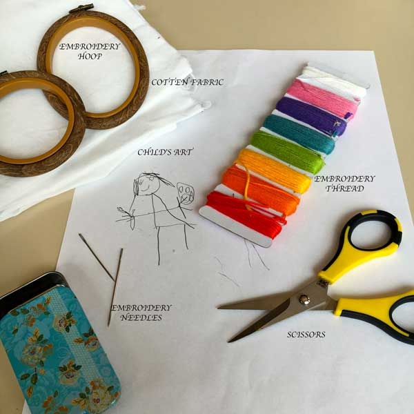 Here are some of the supplies you will need. As you can see, simple and inexpensive.