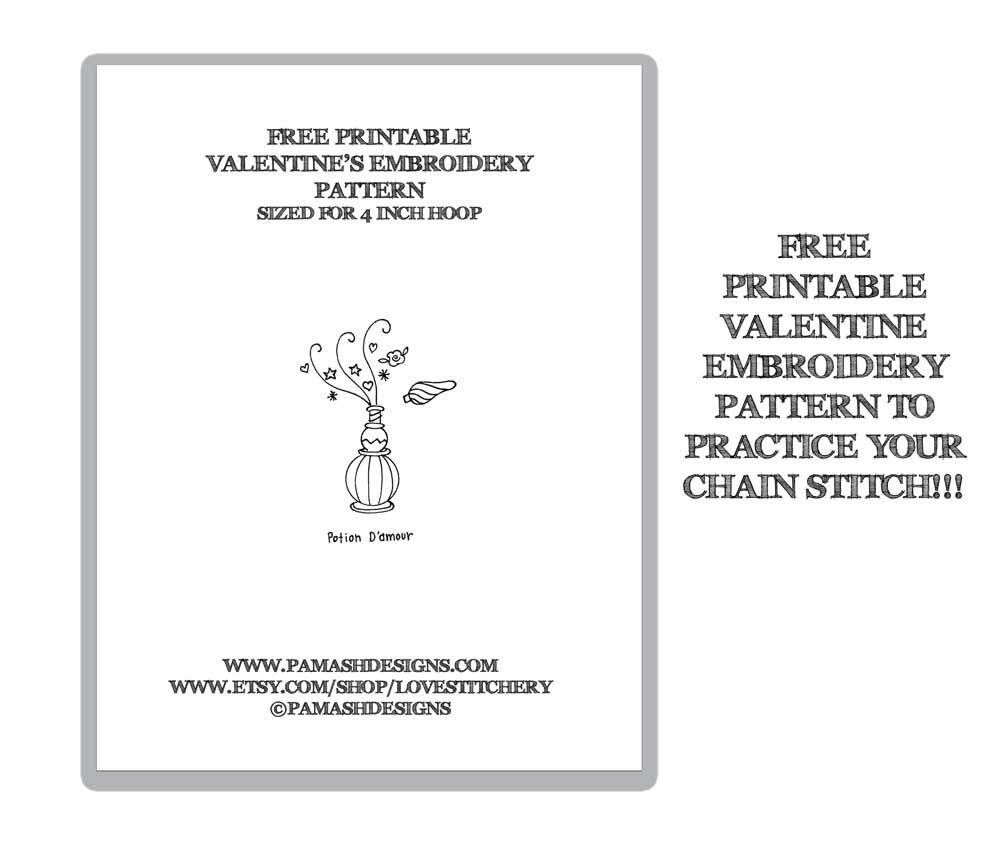 Click  HERE  to get your free printable PDF embroidery pattern.
