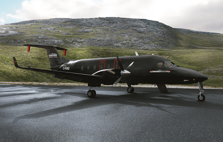 Le nouveau Beechcraft 1900D de Chrono Aviation