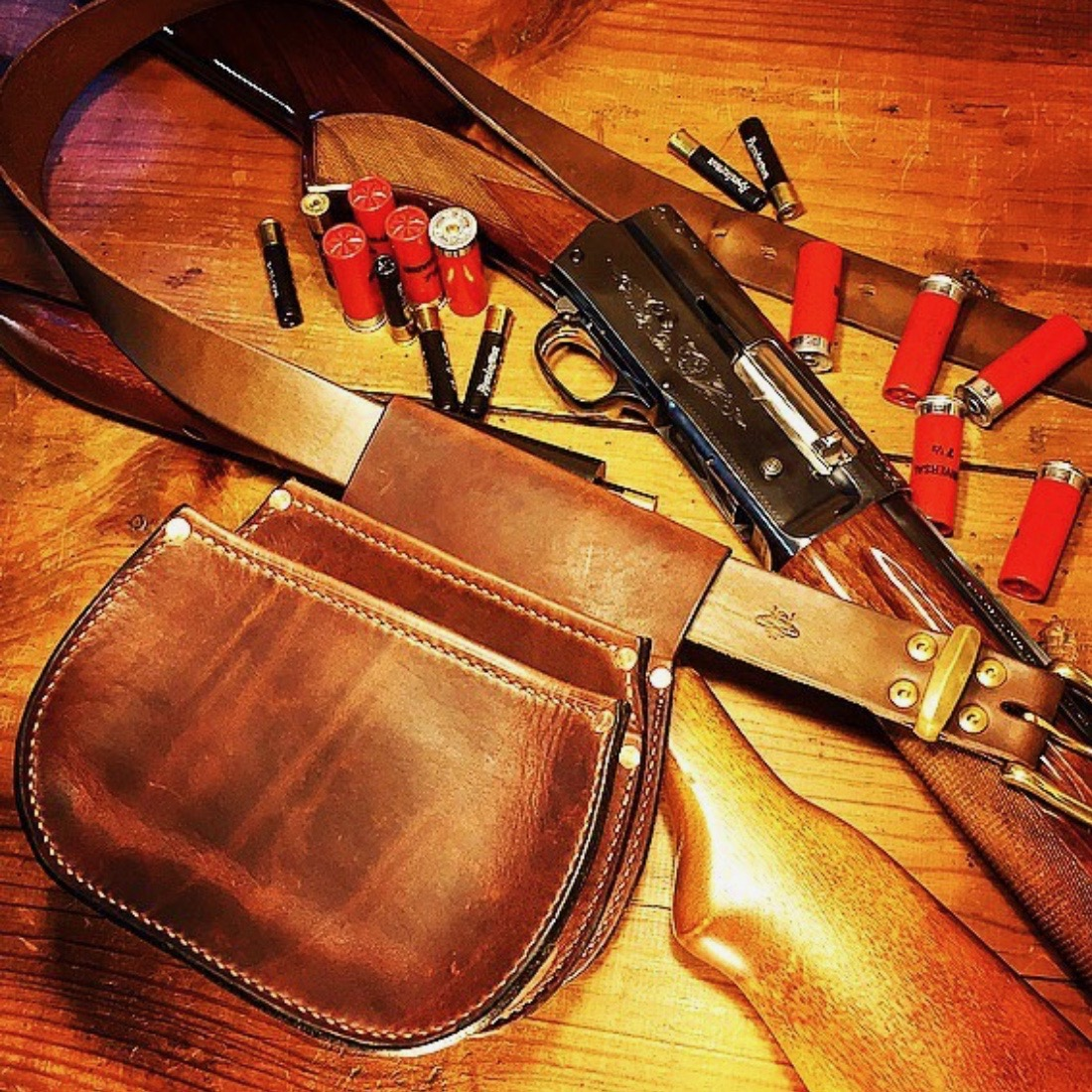 Shotgun Shell Belt Pouch