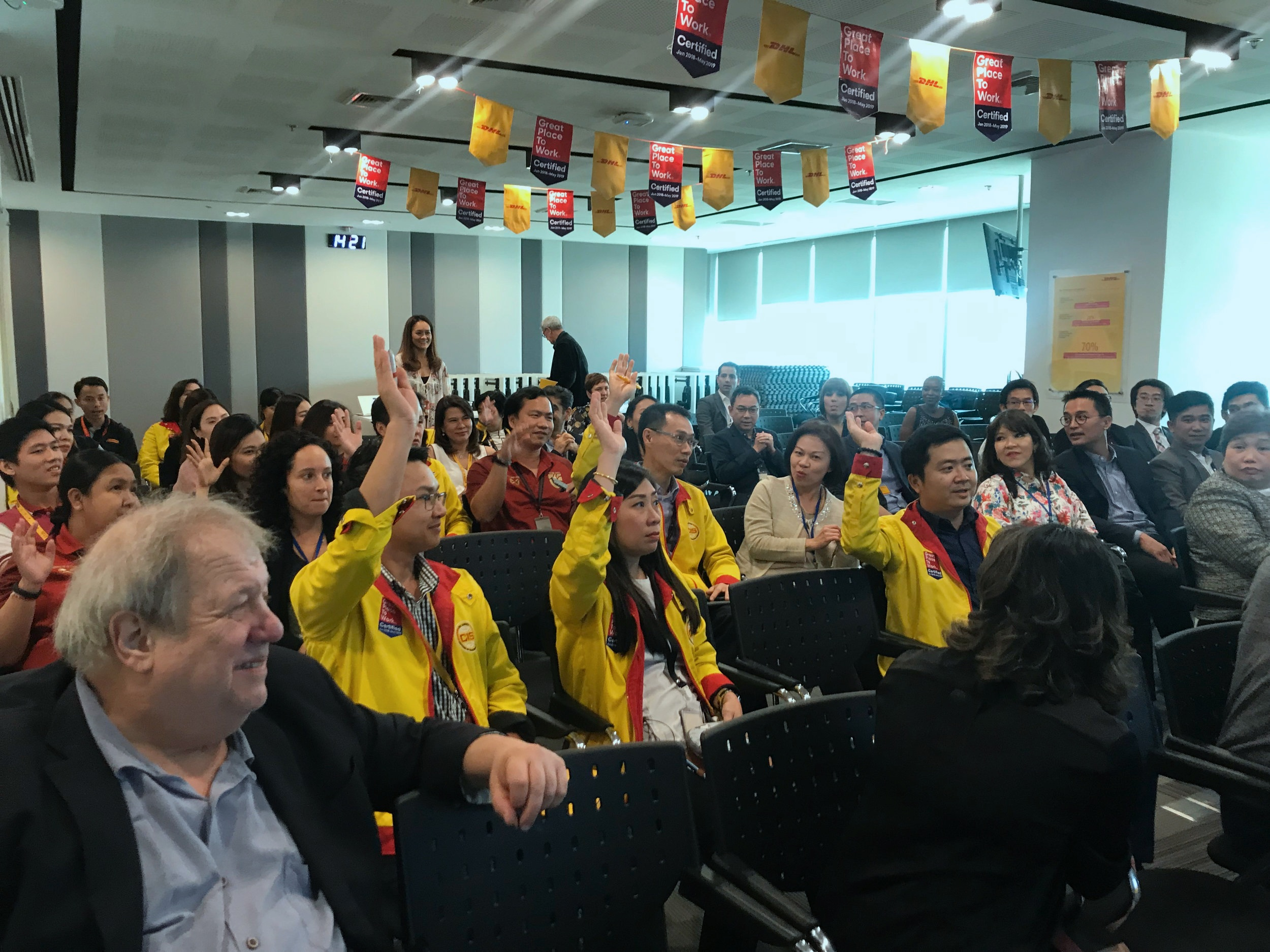 Questions from the ECI practicum at DHL, Thailand 2019