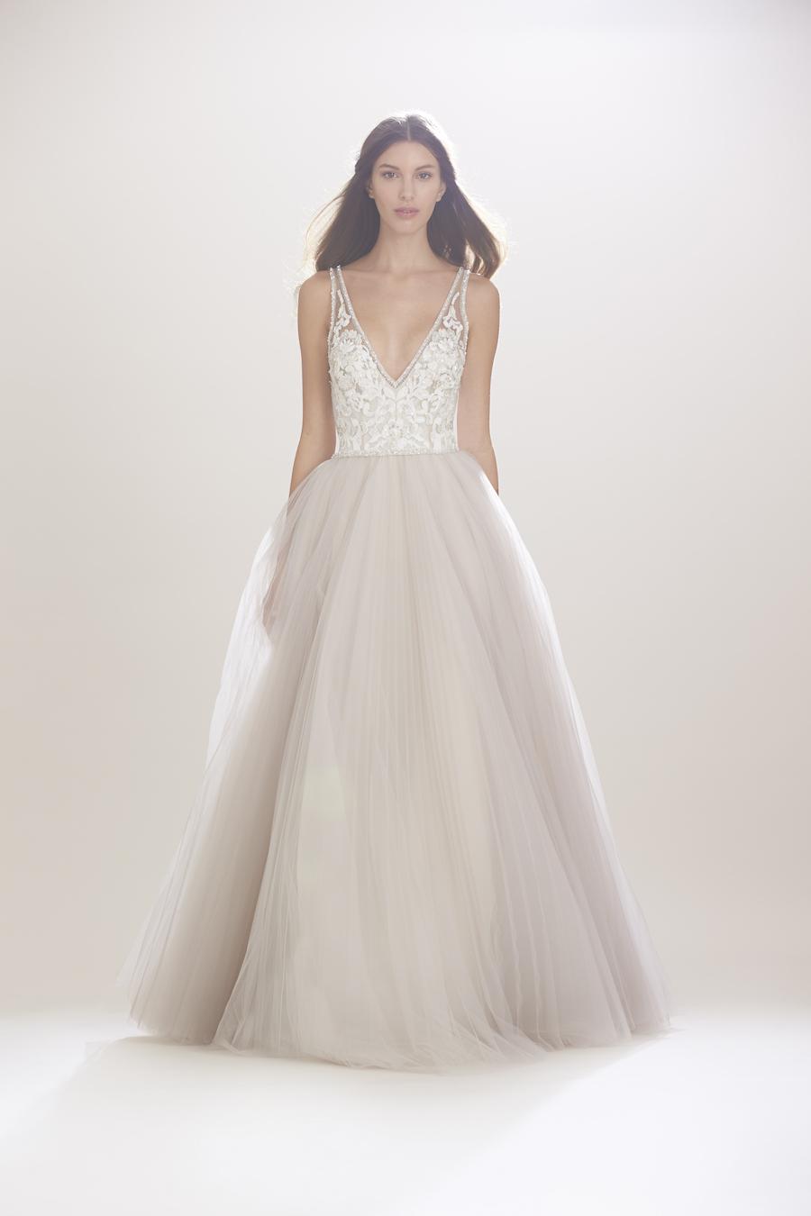 "Carolina Herrera's ""Mercedes"" Dress. Photo courtesy of  Carolina Herrera ."