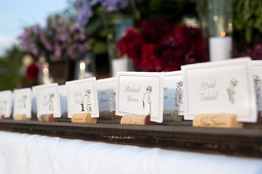 Escort Cards | LIG Events - Washington, DC Wedding and Event Planners