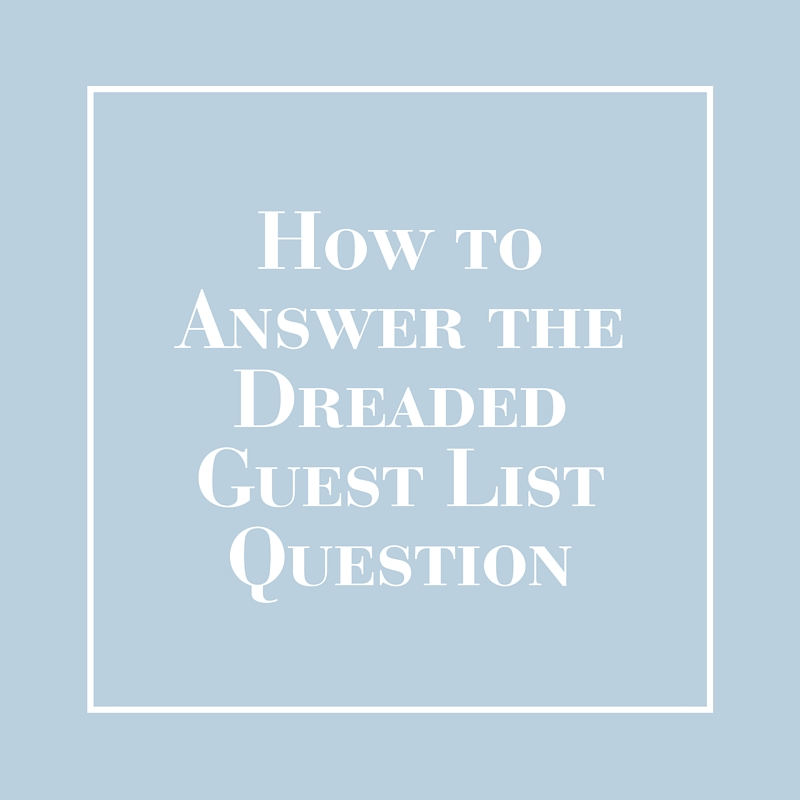 "How to Answer the ""Am I Invited?"" Question 