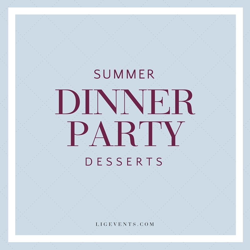Summer Dinner Party Inspiration | LIG Events - Wedding and Event Planners in Washington, DC