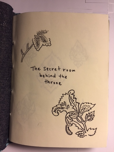 The Secret Room Behind the Throne cover page