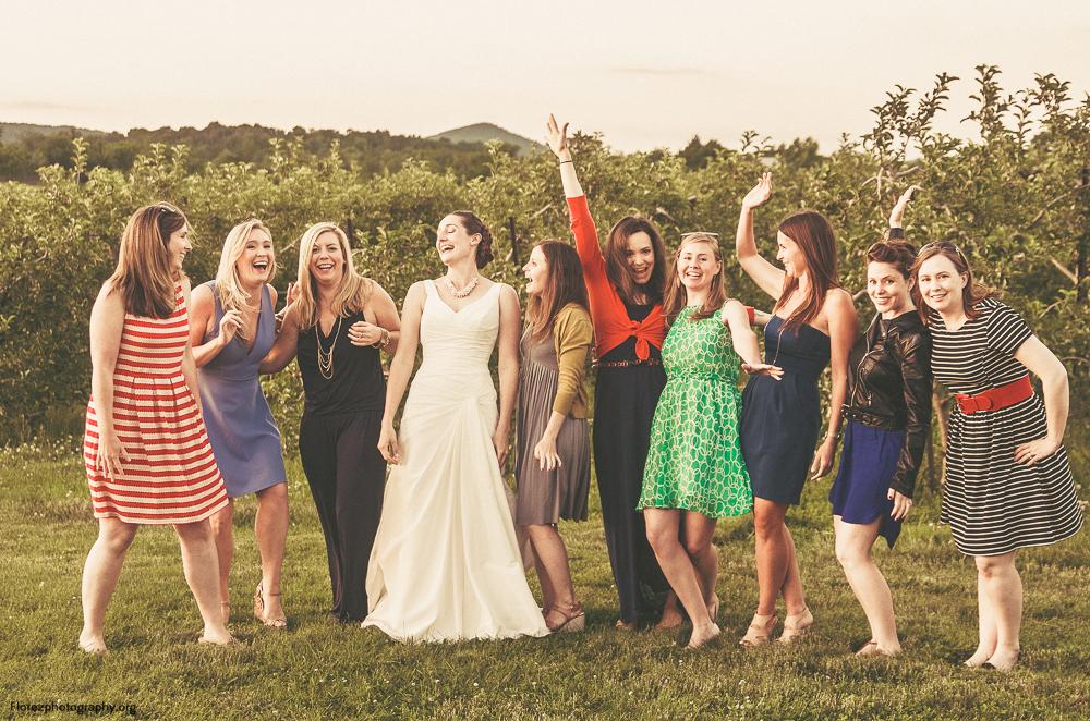 Bridal Party @ Marker Miller Orchard