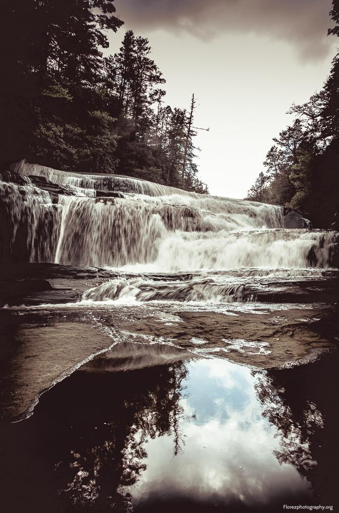 triple falls pisgah nc