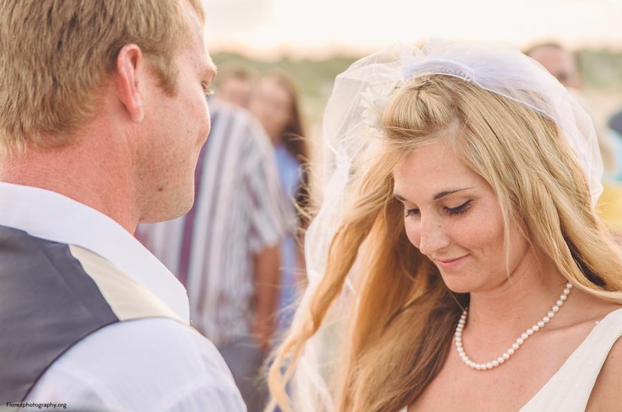 St Augustine Beach wedding