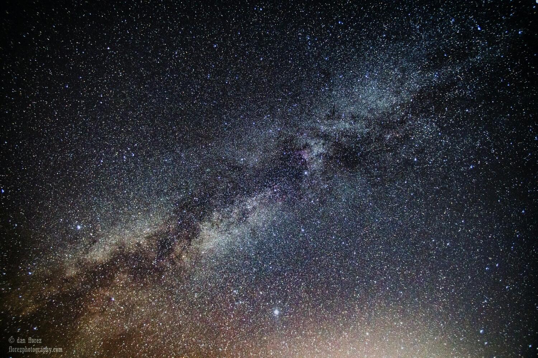 No shooting stars visible, but holy Milky Way!
