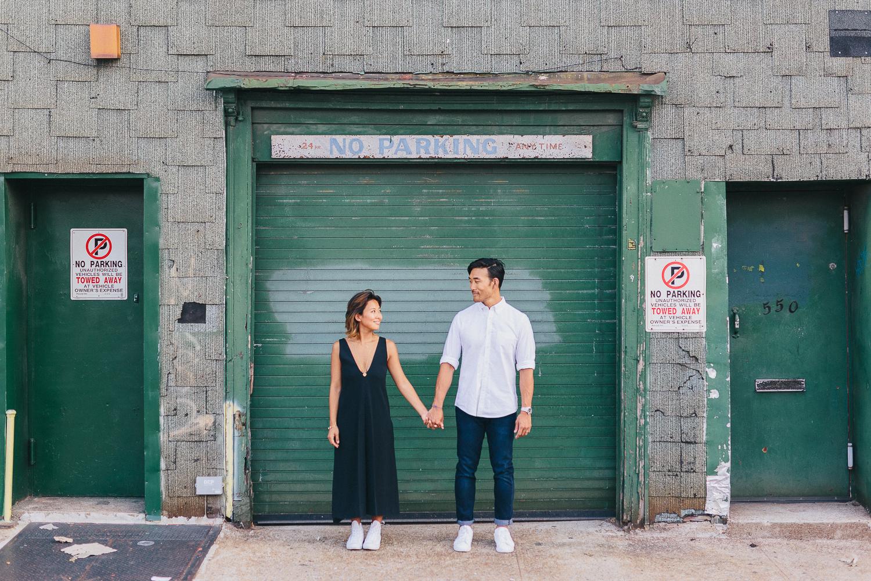 Sky Gallery Brooklyn Engagement Shoot