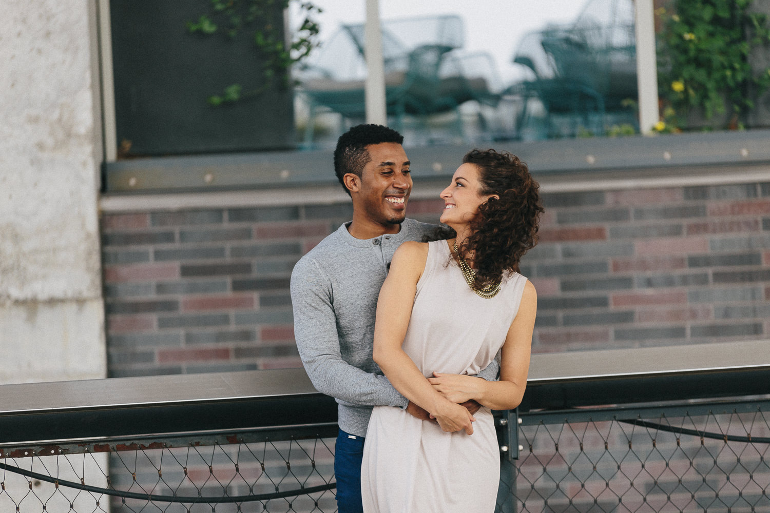 Christianne & Chad's High Line NYC Engagement