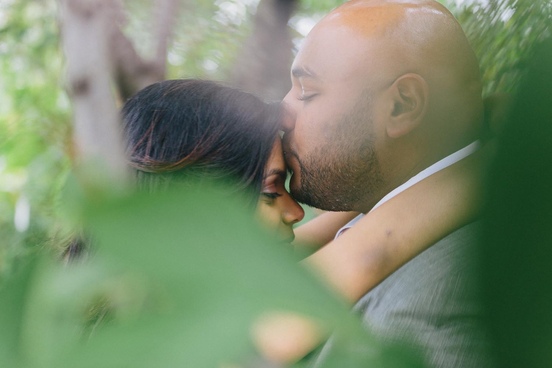 Riya and Tinu Fort Tryon Park NYC Surprise Engagement