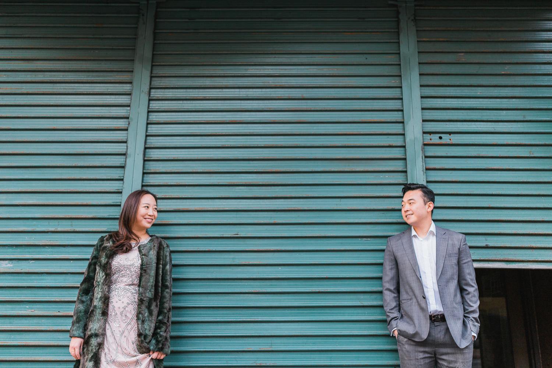 Gina & William Hoboken NJ Engagement