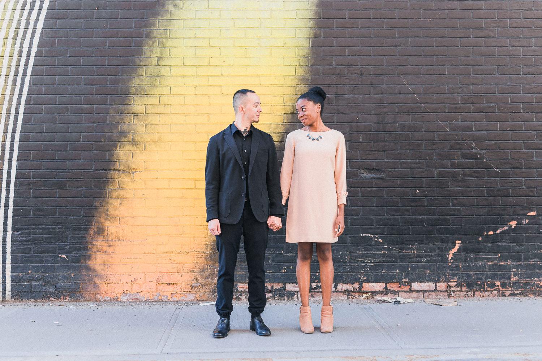 Melinda & Mark's Brooklyn Bridge New York City Engagement