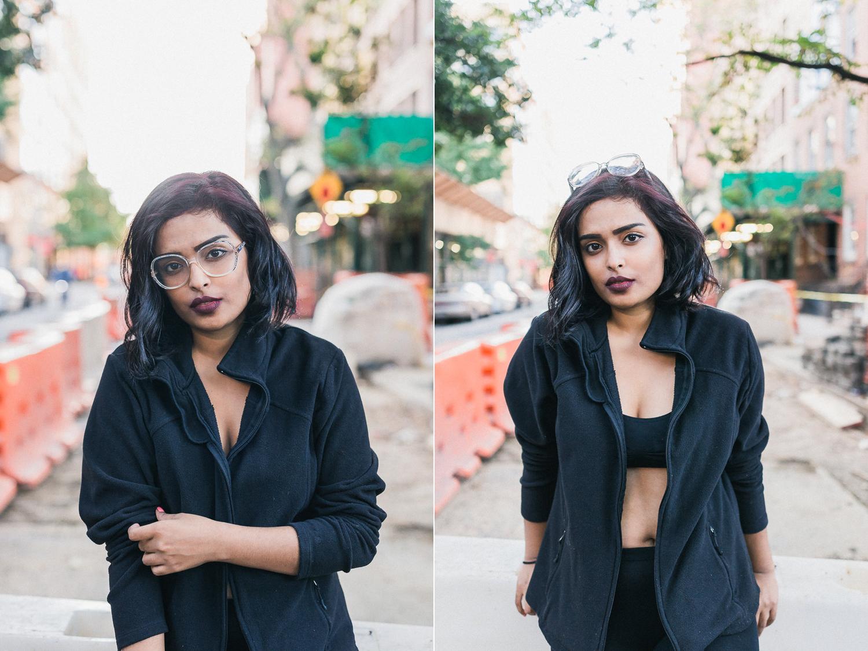 Roxy Banik West Village Fashion Portrait Photo Shoot