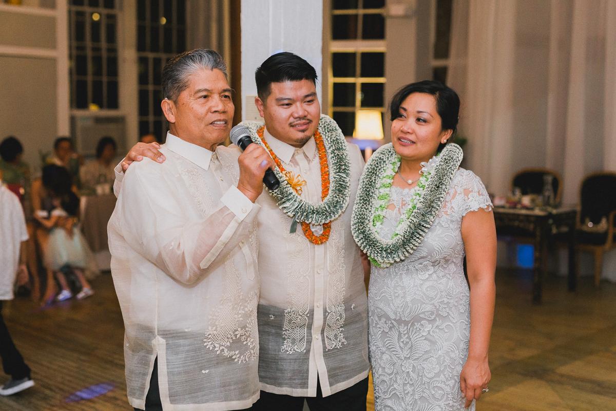 Elinore and Pedro's Metropolitan Building Wedding