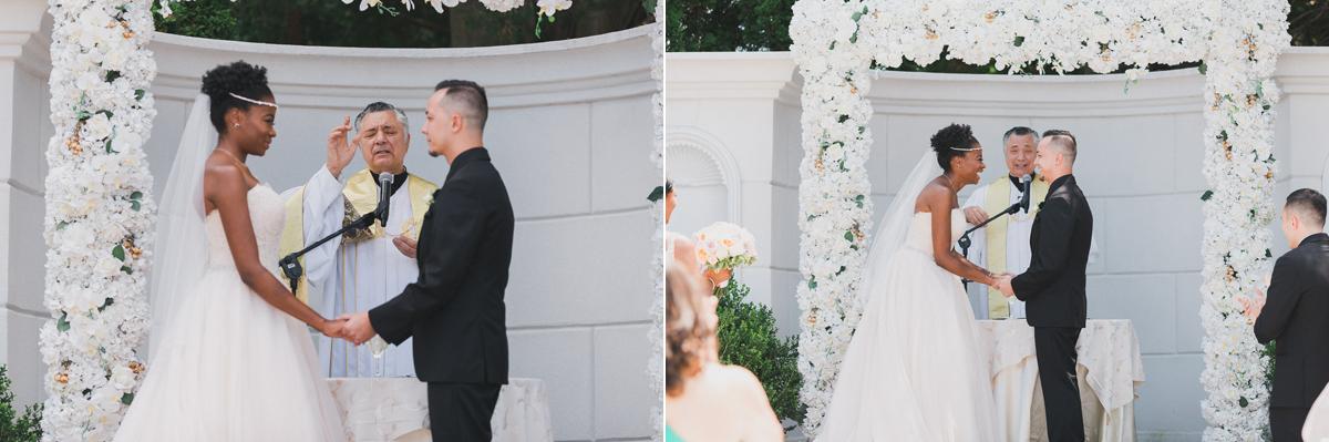Melinda & Kevin's Sand Castle Wedding