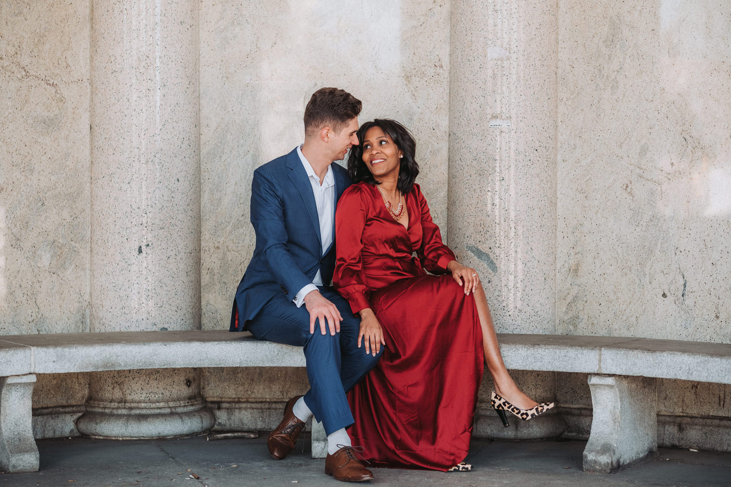Latoya & Christopher's Grand Army Engagement