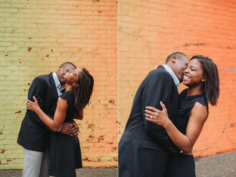 Arlene & Edwards Brooklyn Dumbo Engagement