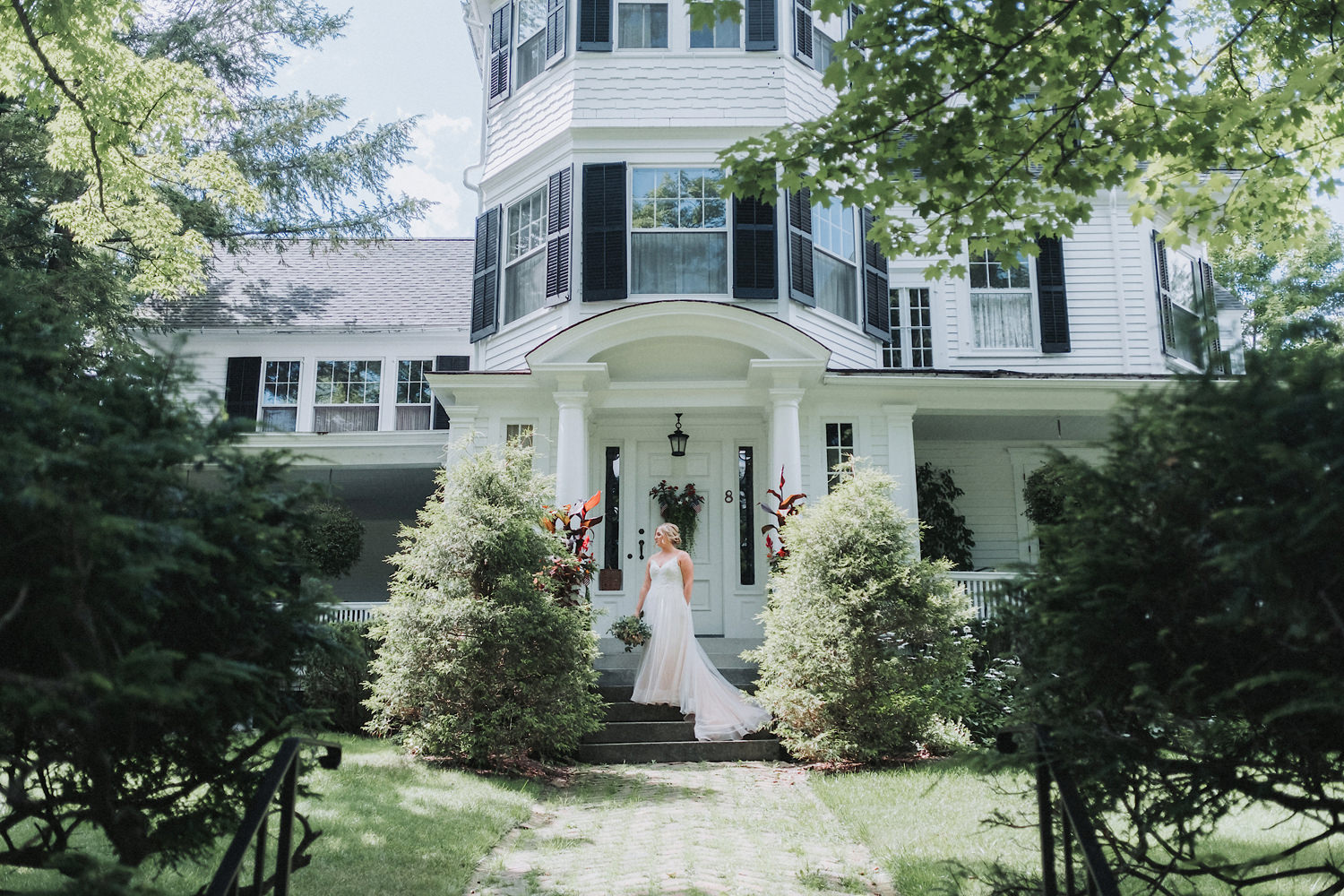 Emily & Michael's Burlington Flats NY Wedding