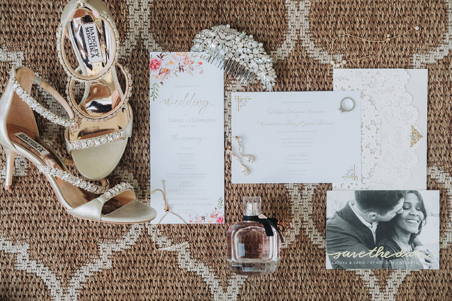 Latoya & Christopher's Flint Hill Georgia Wedding