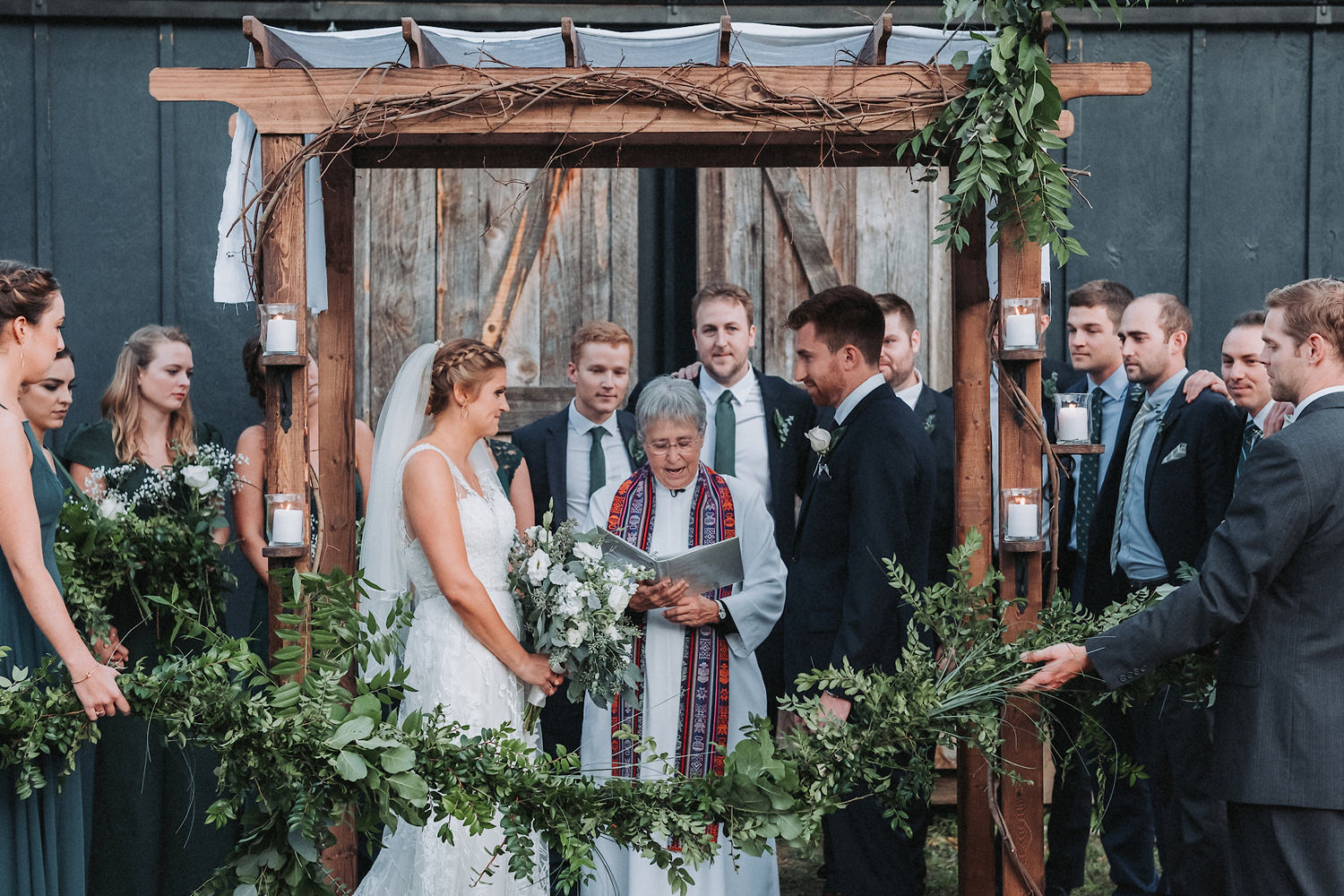 Carley & Ben's 1870 Farm Wedding