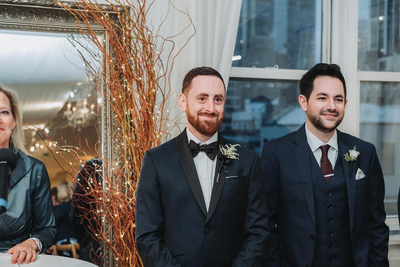 Kristen & Chris' Manhattan NYC Wedding