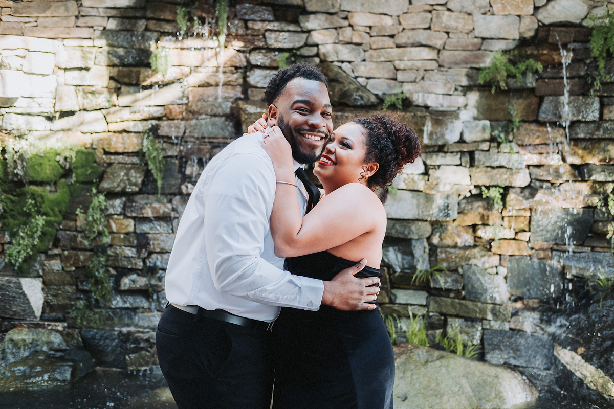 Angel & Brandon's Downtown Raleigh Engagement
